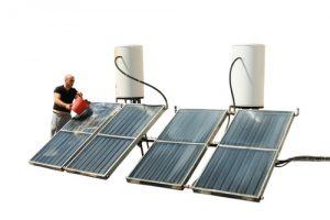 zonneboiler installeren